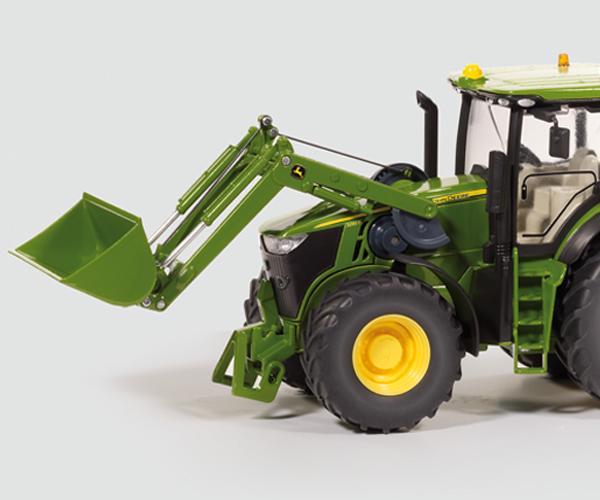Tractor RC radio control JOHN DEERE 7R con pala y mando - Ítem1