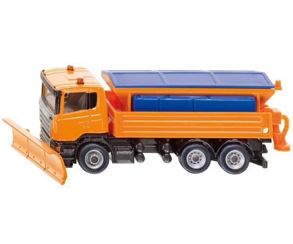 Miniatura camión SCANIA quitanieves