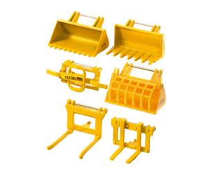 Miniatura accesorios para palas