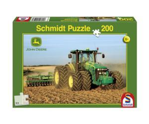 SCHMIDT Puzzle tractor JOHN DEERE 8270R de 200 piezas