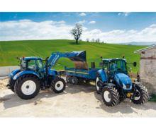 SCHMIDT Puzzle tractor NEW HOLLAND T6AC y tractor NEW HOLLAND T5EC de 200 piezas - Ítem1