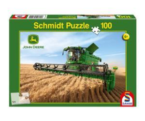 Puzzle cosechadora JOHN DEERE S690 de 100 piezas Schmidt 56144