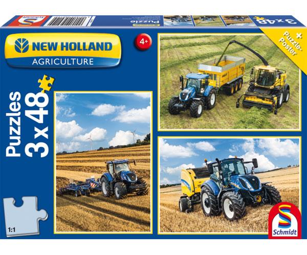 Puzzles tractores New HOLLAND Schmidt 56214