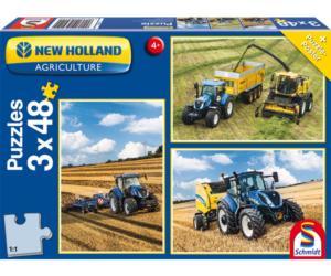 Puzzles tractores New HOLLAND Schmidt 56214