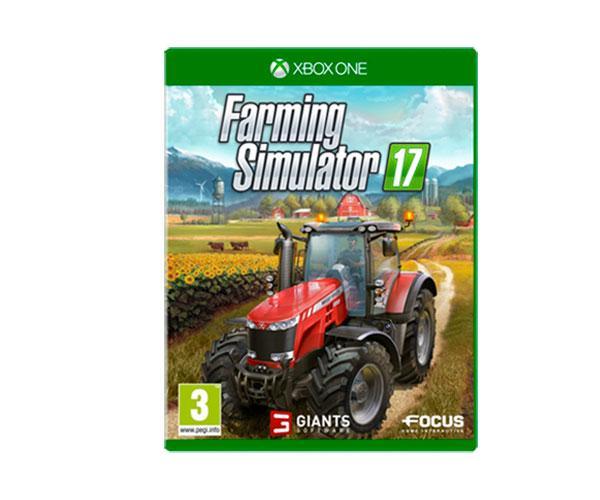 Juego consola Farming Simulator 2017 para XBOX en español B51023