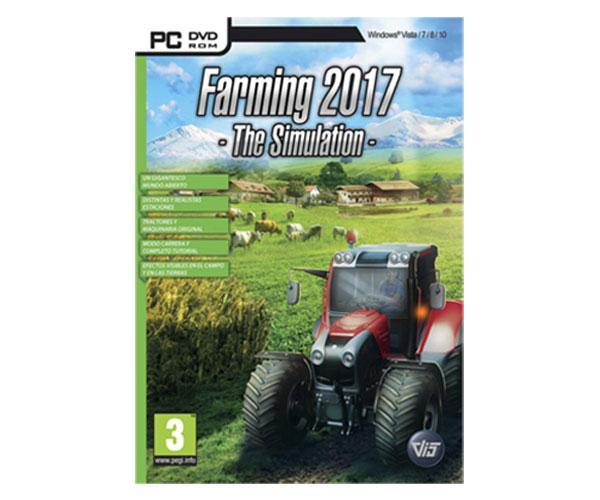 Juego PC Simulador Professional Farmer 2017