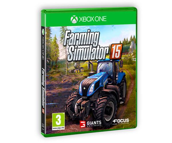 Juego consola Farming Simulator 2015 para XBOX ONE en español