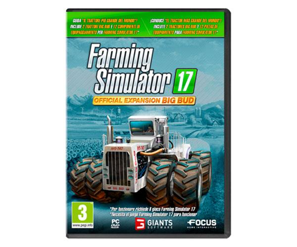 Juego PC Farming Simulator 17 Official expansion BIG BUD