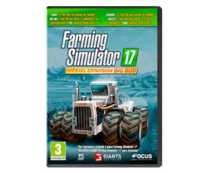 Juego PC Farming Simulator 17 Official expansion BIG BUD