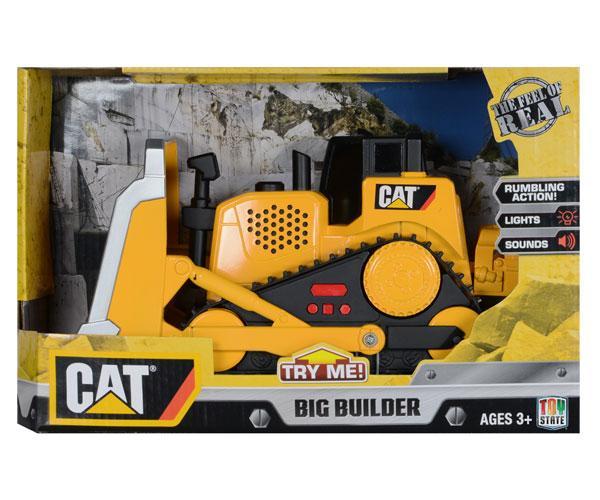 Bulldozer de juguete CAT Toy State 34622 - Ítem1
