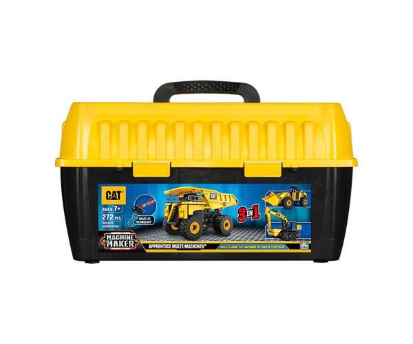 Kit de montaje bulldozer, excavadora y pala cargadora CAT Toy State 80950 - Ítem1