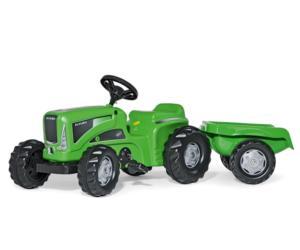 Tractor de pedales FUTURA con remolque