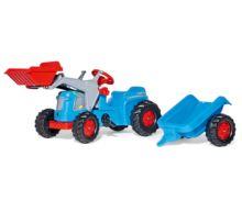Tractor de pedales KIDDY Classic con pala y remolque - Ítem1