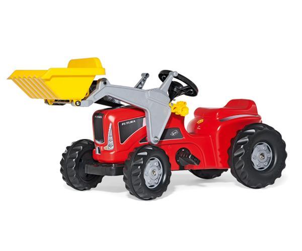 Tractor de pedales KIDDY Futura con pala