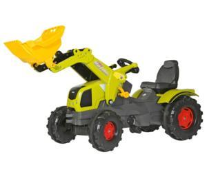 Tractor de pedales CLAAS Axos 340 con pala