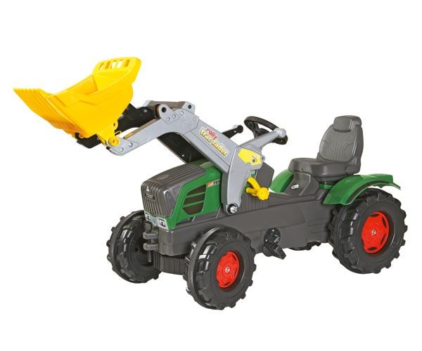Tractor de pedales FENDT 211 Vario con pala