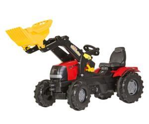 Tractor de pedales CASE IH Puma 225 CVX con pala