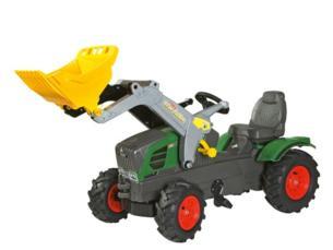 Tractor de pedales FENDT 211 Vario con pala y neumaticos goma