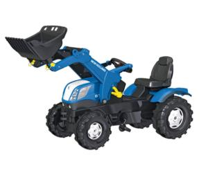 Tractor de pedales NEW HOLLAND con pala Rolly Toys 611256