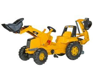 Tractor de pedales CATERPILLAR con retro y pala