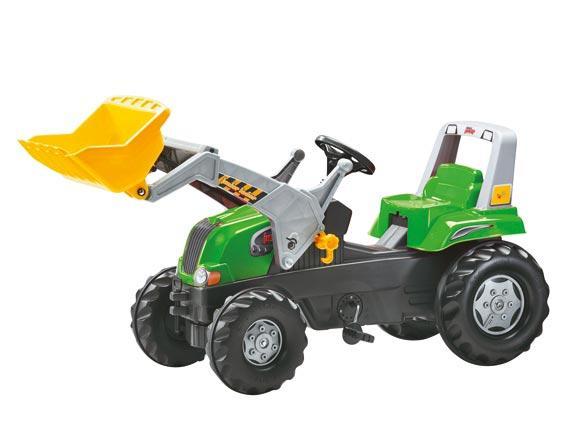 Tractor de pedales ROLLY Junior RT con pala