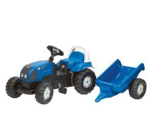 Tractor de pedales LANDINI con remolque