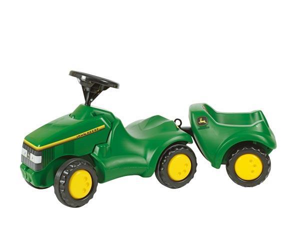 remolque rolly toys john deere minitrac 122028 - Ítem1