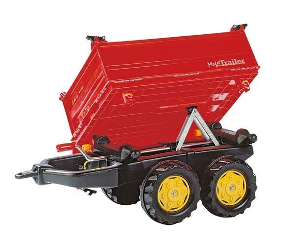 Mega trailer basculante rojo - Ítem1