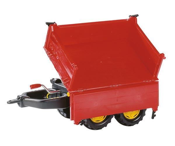 Mega trailer basculante rojo - Ítem2