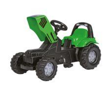 Tractor de pedales DEUTZ-FAHR Agrolux con pala y remolque - Ítem1