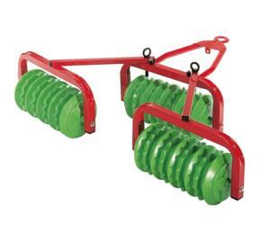 Rodillo dentado para tractores de pedales