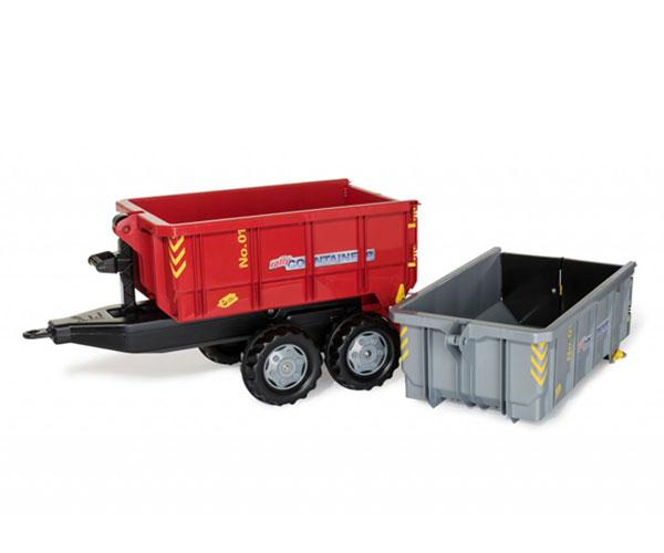 ROLLY TOYS Remolque RollyContainer (2 cajas)