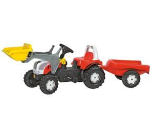 Tractor de pedales STEYR 6190 CVT con pala y remolque