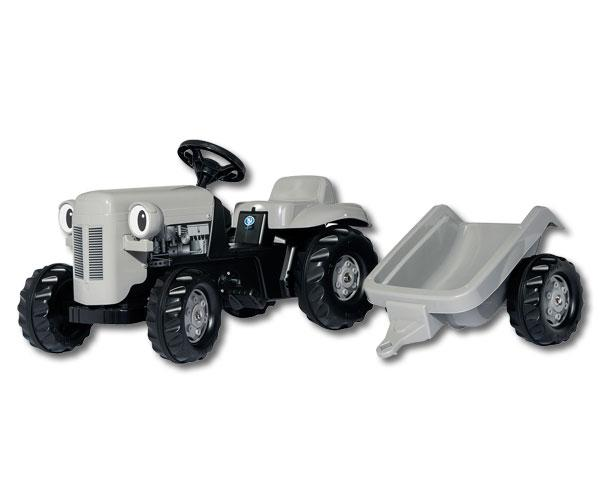 Tractor de pedales Little Grey Fergie Rolly Toys 014941