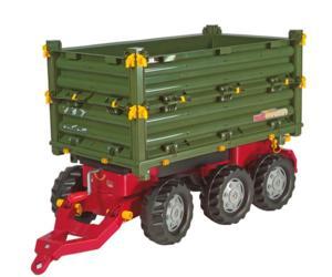Remolque basculante Rolly Multitrailer con doble alza