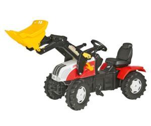 Tractor de pedales STEYR CVT 170 con pala