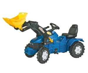 Tractor de pedales NEW HOLLAND TM 175 con pala