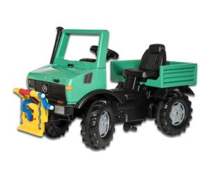 Unimog de pedales MERCEDES BENZ forestal Rolly Toys 038206