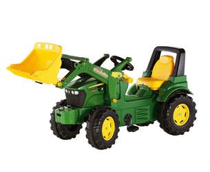 Tractor de pedales JOHN DEERE 7930 con pala