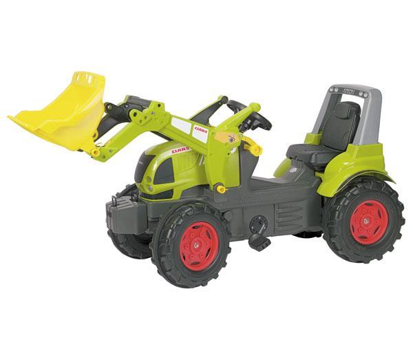 tractor de pedales claas arion 640 con pala