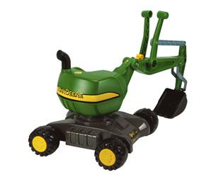 Excavadora infantil JOHN DEERE Rolly toys