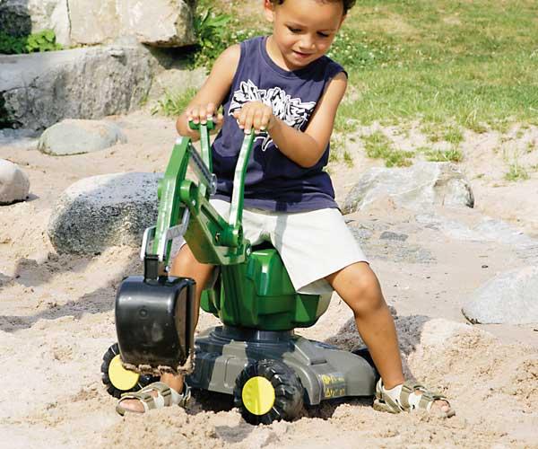 Excavadora infantil JOHN DEERE Rolly toys - Ítem2