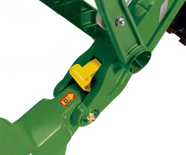Excavadora infantil JOHN DEERE Rolly toys - Ítem3