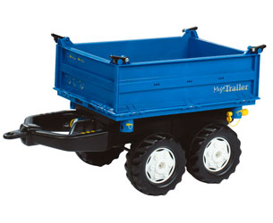 Mega trailer basculante colores New Holland