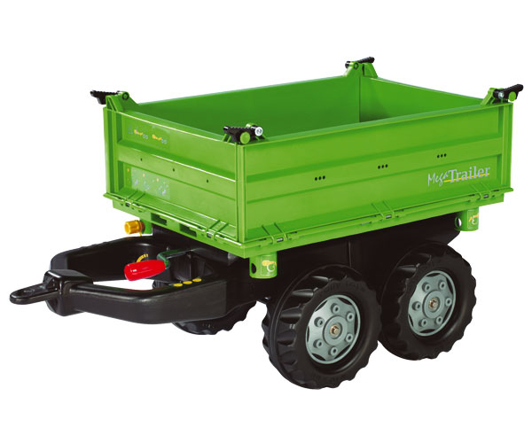 Mega trailer basculante colores Deutz-Fahr
