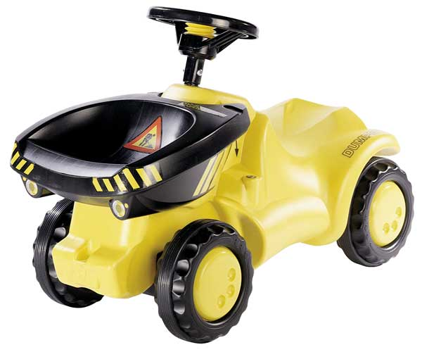 Correpasillos dumper Rolly toys Minitrac 132140