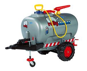 Remolque cisterna ROLLY Tanker un eje con bomba y boquilla - Ítem1