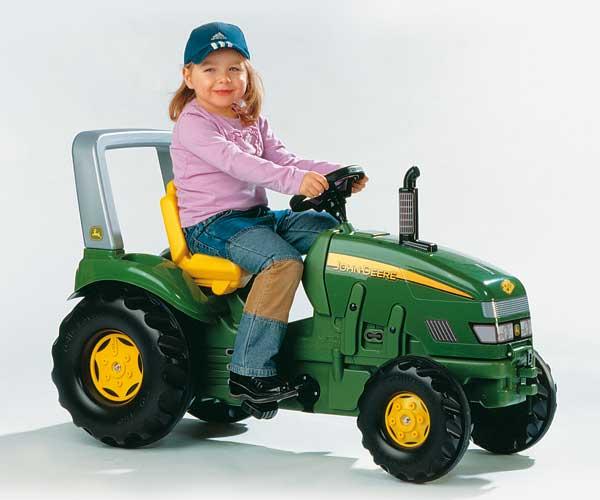 Tractor de pedales JOHN DEERE - Ítem3