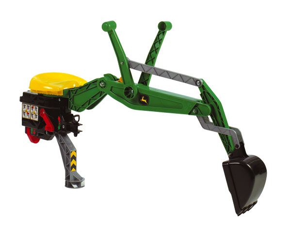 Retrocargadora JOHN DEERE para tractores de pedales