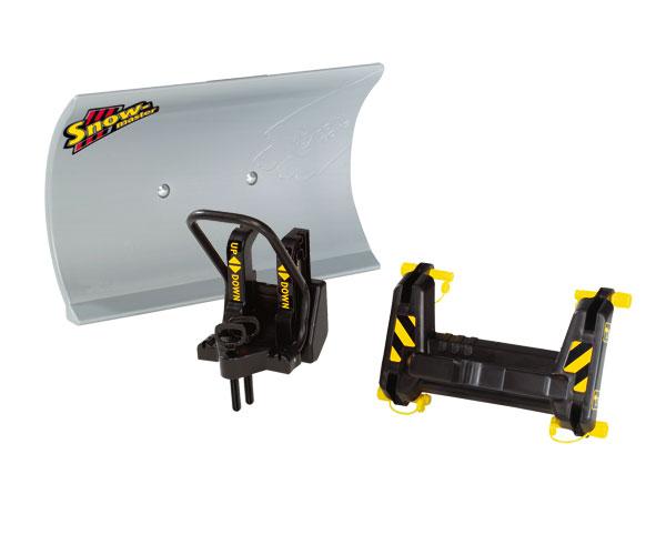 Quitanieves para tractores de pedales